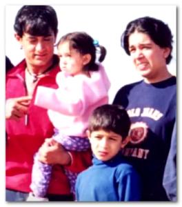 aamir khan wife reena junaid young