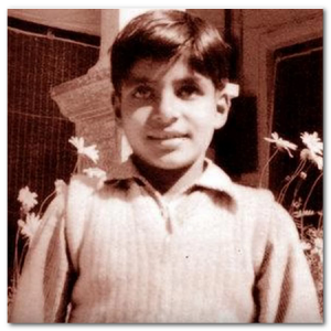 amitabh bachchan childhood  picture