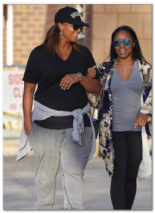 queen latifah girlfriend eboni nichols