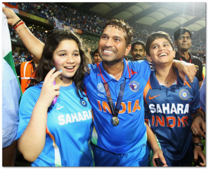 sachin tendulkar son daughter