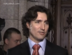 Justin Trudeau hair style