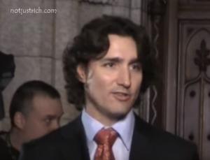 Justin Trudeau hair style