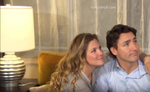 Justin Trudeau wife Sophie Gregoire