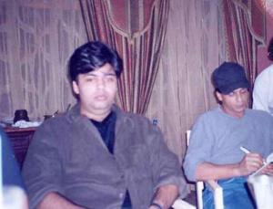 karan johar fat photo young