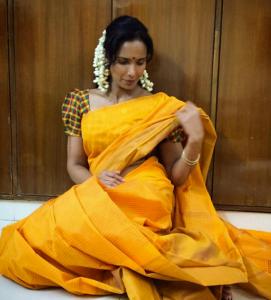 padma lakshmi saree picture