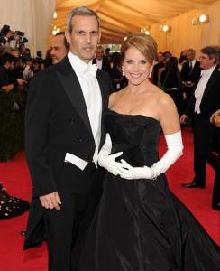 katie couric husband john malnor pictures