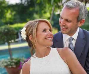 katie couric husband wedding john malnor