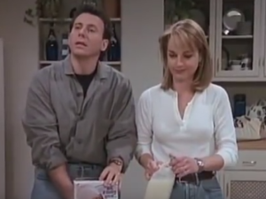Helen Hunt and Paul Reiser Mad About You