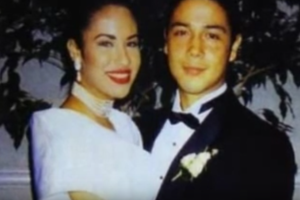 selena quintanilla chris perez wedding photo