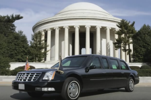 barack obama car cadillac limousine
