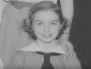 hillary clinton childhood photo