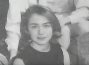 hillary clinton young pics