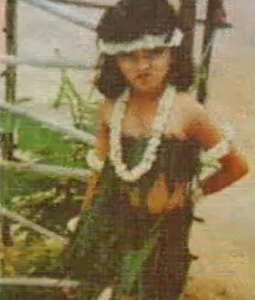 sania mirza childhood photo
