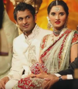 sania mirza wedding photo