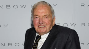 david rockefeller latest photo