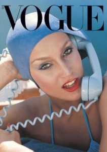 jerry hall vogue young