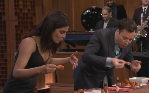 jimmy fallon priyanka chopra eating