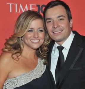 jimmy fallon wife Nancy Juvonen photo