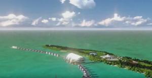 leonardo dicaprio island belize Blackadore Island