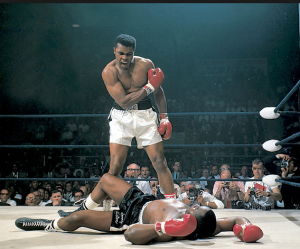 muhammad ali boxing knockout photo
