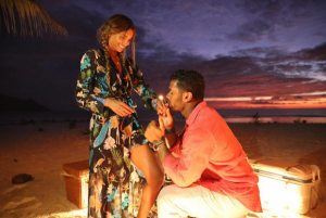 russell wilson ciara engagement photo