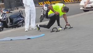 anil ambani working out fitness