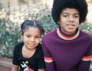 janet jackson childhood photo michael jackson