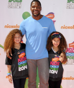 michael strahan daughters twins sophia isabella