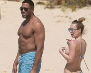 michael strahan girlfriend photo kayla quick