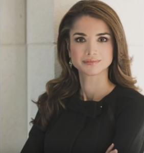 queen rania of jordan beautiful images