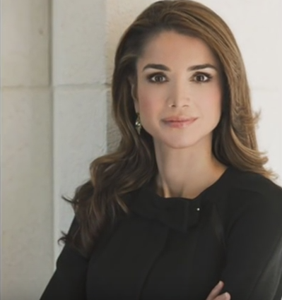 queen rania of jordan beautiful images
