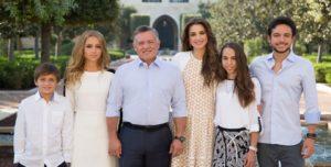 queen rania of jordan family husband children