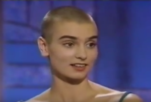 sinead o'connor bald photo