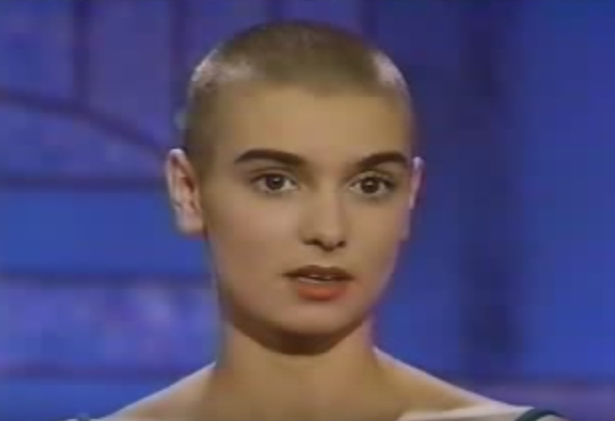 sinead o'connor bald picture