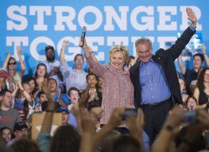 Tim Kaine Hillary Clinton