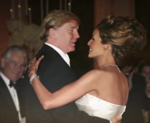 melania trump wedding donald trump photo