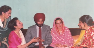 navjot singh sidhu wedding photo