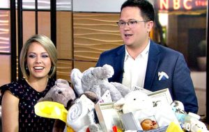 Dylan Dreyer declared that she was pregnant with her first child