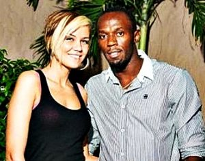 Usain Bolt girlfriend Lubica Kucerova.