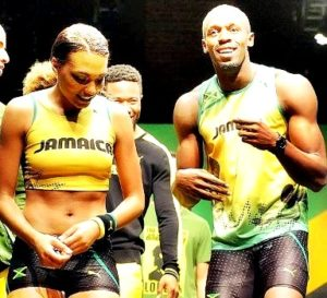 Usain Bolt girlfriend Megan Edwards