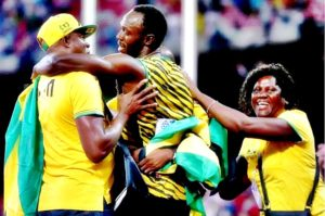 Usain Bolt parents