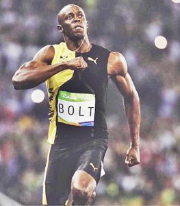 Usain Bolt runner