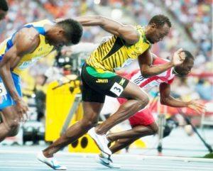 Usain Bolt running Pics