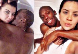 usain bolt with girlfriend Kasi Benett pics