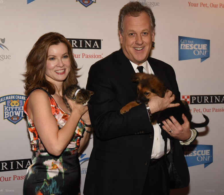 Jodi Applegate with husband Michael Kay
